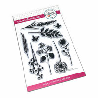 Catherine Pooler Designs - Clear Photopolymer Stamps - Wild Garden