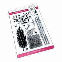 Catherine Pooler Designs - Clear Photopolymer Stamps - Birds of a Feather