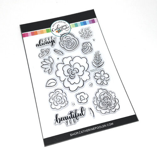 Catherine Pooler Designs - Clear Photopolymer Stamps - Beautiful You