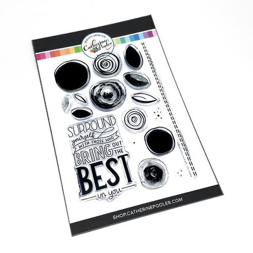 Catherine Pooler Designs - Clear Photopolymer Stamps - Best in You