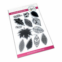 Catherine Pooler Designs - Clear Photopolymer Stamps - Leaf Motifs