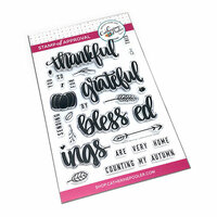Catherine Pooler Designs - Clear Photopolymer Stamps - Autumn Blessings