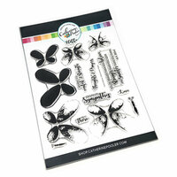 Catherine Pooler Designs - Clear Photopolymer Stamps - Faithful Flutterings