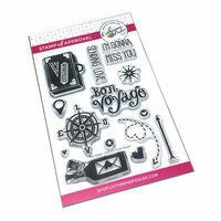 Catherine Pooler Designs - Clear Photopolymer Stamps - Bon Voyage