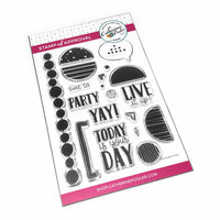 Catherine Pooler Designs - Clear Photopolymer Stamps - Punctuated Party
