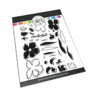 Catherine Pooler Designs - Clear Photopolymer Stamps - Wonderful Wildflowers