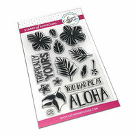 Catherine Pooler Designs - Clear Photopolymer Stamps - Tropically Yours