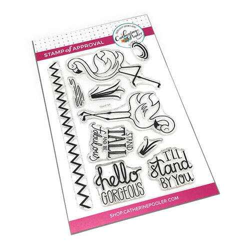 Catherine Pooler Designs - Clear Photopolymer Stamps - Stand Tall