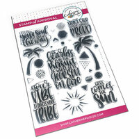 Catherine Pooler Designs - Clear Photopolymer Stamps - Fearless Pursuit