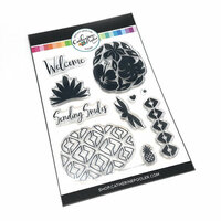 Catherine Pooler Designs - Clear Photopolymer Stamps - Pineapples and Smiles