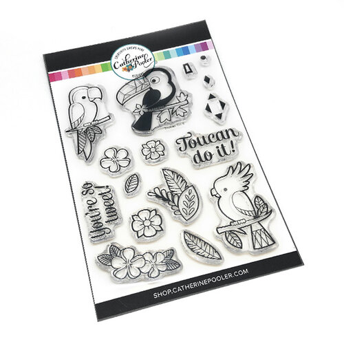 Catherine Pooler Designs - Clear Photopolymer Stamps - Toucan Do It