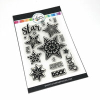 Catherine Pooler Designs - Clear Photopolymer Stamps - Starlights