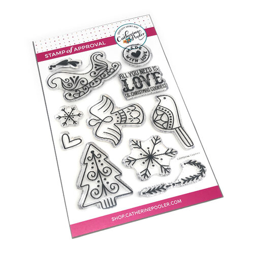 Catherine Pooler Designs - Clear Photopolymer Stamps - Christmas Cookies