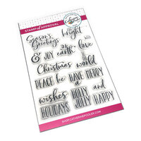 Catherine Pooler Designs - Christmas - Clear Photopolymer Stamps - Holiday Mix Sentiments