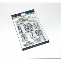 Catherine Pooler Designs - Halloween - Clear Photopolymer Stamps - Everything but the Broom