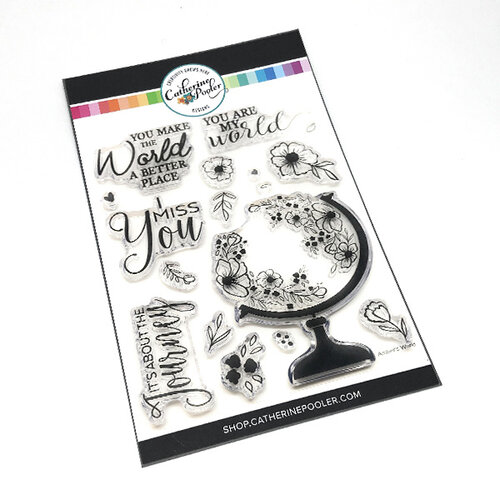 Catherine Pooler Designs - Clear Photopolymer Stamps - Amber