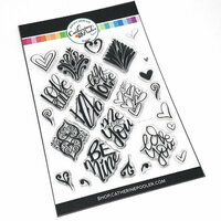 Catherine Pooler Designs - Clear Photopolymer Stamps - Say it with Love