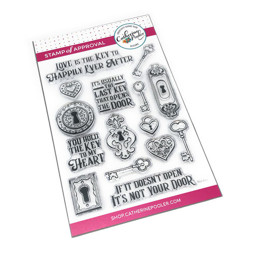 Catherine Pooler Designs - Clear Photopolymer Stamps - The Key