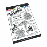 Catherine Pooler Designs - Clear Photopolymer Stamps - Warm Welcome