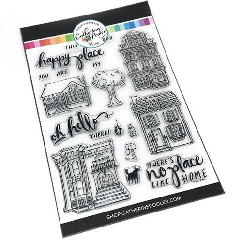 Catherine Pooler Designs - Clear Photopolymer Stamps - Happy Place