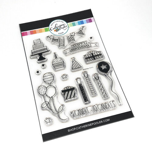 Catherine Pooler Designs - Clear Photopolymer Stamps - Birthday Icons
