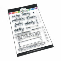 Catherine Pooler Designs - Clear Photopolymer Stamps - The Daily Plan