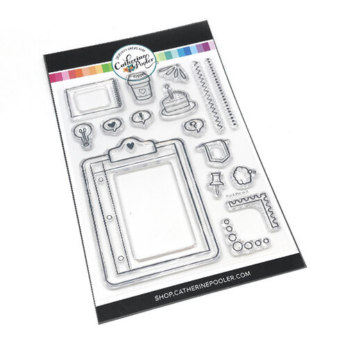 Catherine Pooler Designs - Clear Photopolymer Stamps - Put a Pin in It
