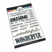 Catherine Pooler Designs - Clear Photopolymer Stamps - Awesome and Wonderful