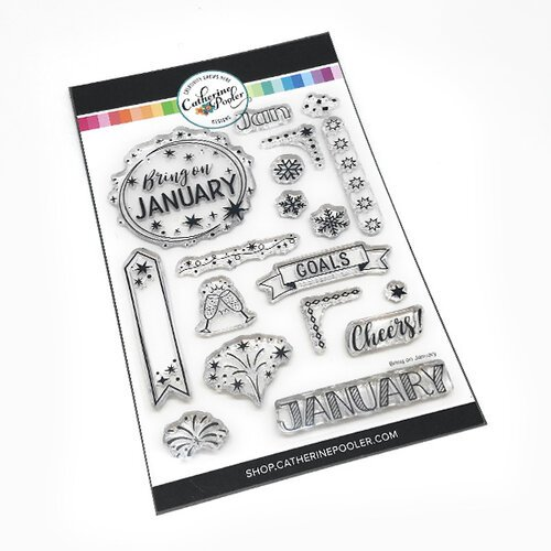 Catherine Pooler Designs - Clear Photopolymer Stamps - Bring On January