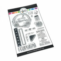 Catherine Pooler Designs - Clear Photopolymer Stamps - Hey There, February