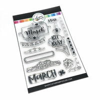 Catherine Pooler Designs - Clear Photopolymer Stamps - Here Comes March