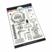 Catherine Pooler Designs - Clear Photopolymer Stamps - Oh Hi, April