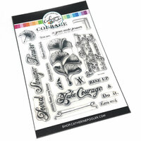 Catherine Pooler Designs - Clear Photopolymer Stamps - Take Courage