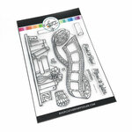 Catherine Pooler Designs - Clear Photopolymer Stamps - Book and Film