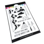 Catherine Pooler Designs - Out West Collection - Clear Photopolymer Stamps - Mountain of Thanks