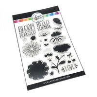 Catherine Pooler Designs - Clear Photopolymer Stamps - Whimsical Blooms