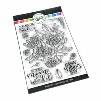 Catherine Pooler Designs - Clear Photopolymer Stamps - One in a Million Mom Floral