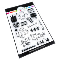 Catherine Pooler Designs - Out West Collection - Clear Photopolymer Stamps - Wanna Hug