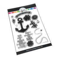 Catherine Pooler Designs - Anchors Away Collection - Clear Photopolymer Stamps - Refuse to Sink