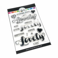 Catherine Pooler Designs - Clear Photopolymer Stamps - Isn't She Lovely