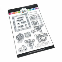 Catherine Pooler Designs - Clear Photopolymer Stamps - Going Where