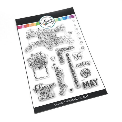 Catherine Pooler Designs - Clear Photopolymer Stamps - It's May