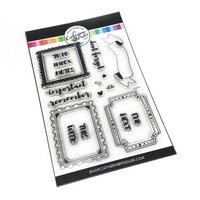 Catherine Pooler Designs - Clear Photopolymer Stamps - Canvo - Framed