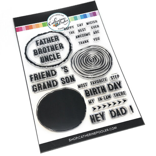 Catherine Pooler Designs - Clear Photopolymer Stamps - Hey, Mister