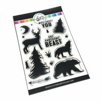 Catherine Pooler Designs - Clear Photopolymer Stamps - Wild About You