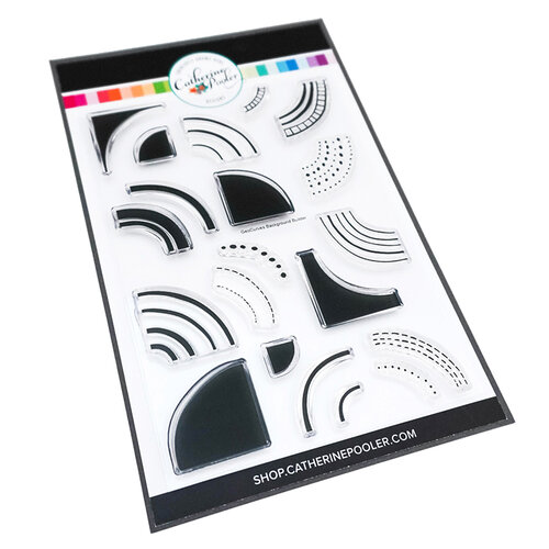Catherine Pooler Designs - In The Kitchen Collection - Clear Photopolymer Stamps - GeoCurves