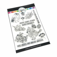 Catherine Pooler Designs - Clear Photopolymer Stamps - Fluttering Friends