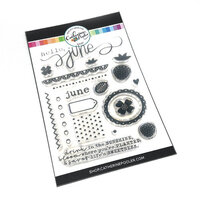 Catherine Pooler Designs - Clear Photopolymer Stamps - Hello June