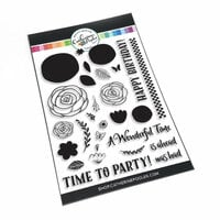 Catherine Pooler Designs - Clear Photopolymer Stamps - Just Wonderful Floral