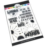 Catherine Pooler Designs - Clear Photopolymer Stamps - Scatter Sunshine